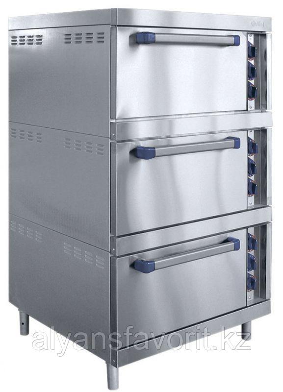 Шкаф жарочный ABAT ШЖЭ-3 трехсекционный