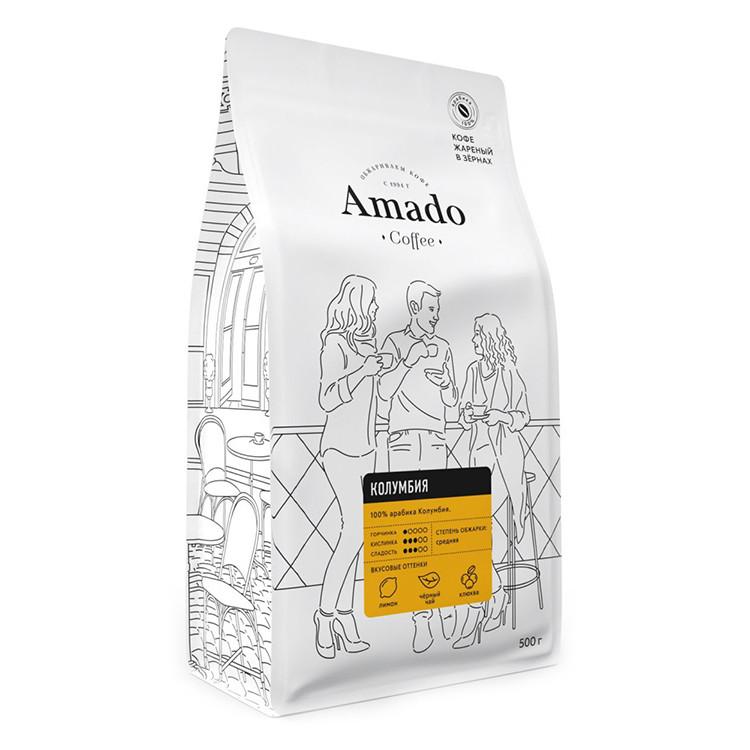 Колумбия Кофе в зернах 500г