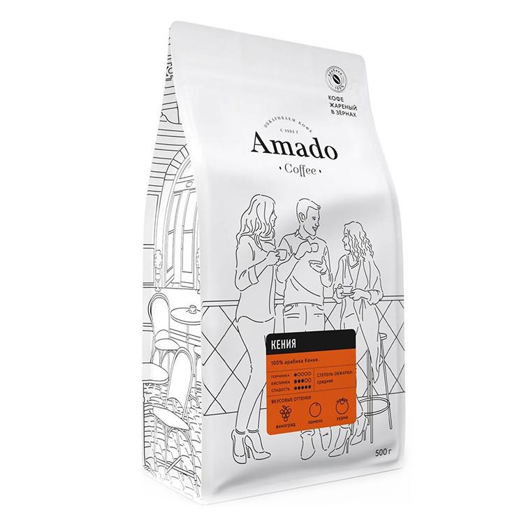 Кения Кофе в зернах 500г