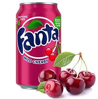 Fanta WILD Cherry Дикая Вишня 355ml США (12шт-упак)