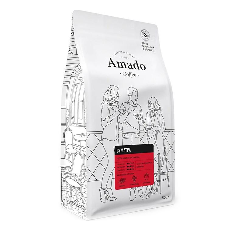Суматра Кофе в зернах 500г