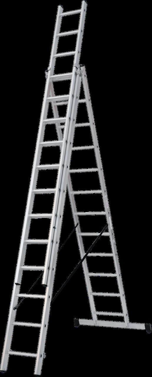 Лестница трехсекционная NV100, 3*14