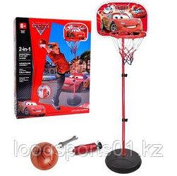Детский игровой баскетбольный набор Тачки 2 (120см) бесплатной доставкой