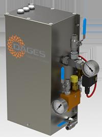 Испаритель электрический DAGES VEI20-UV, до 20 кг/час