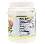 California Gold Nutrition, Органическое кокосовое масло первого холодного отжима, 1,6 л (54 жидк. унции), фото 2