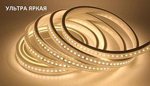 Светодиодная лента SMD 2835 Ультра Яркая IP67 220V 144 д/м, Белый, Теплый