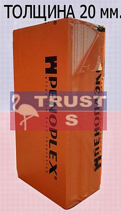 Экструзионный пенополистирол ПЕНОПЛЭКС КОМФОРТ® 20х585х1185 мм  С, фото 2