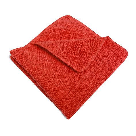 Салфетка микрофибра 220 г/м 30*30 (300 шт) короб красная, фото 2