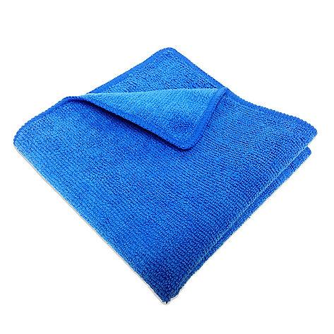 Салфетка микрофибра 220 г/м 30*30 (300 шт) короб синяя, фото 2