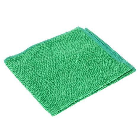 Салфетка микрофибра 220 г/м 30*30  (300шт) короб  зеленая, фото 2