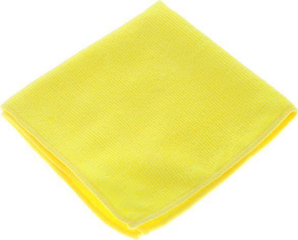 Салфетка микрофибра 220 г/м 30*30  (300шт) короб  желтая, фото 2