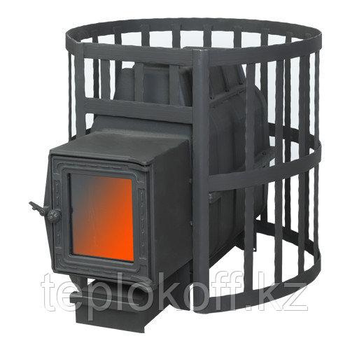 Печь банная Fireway Паровар 22 сетка ковка дверка 201