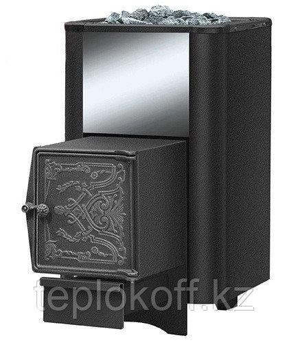 Печь банная Везувий Русичъ антрацит 22 дверка ДТ - 4