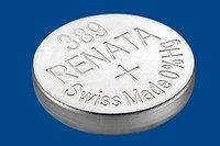 Батарея Renata 389  1,4v  SR1130W