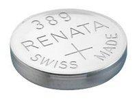 Батарейка Renata R 389 SR1130W 1.55V, 1 шт