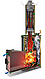 Печь для бани Ферингер Ламель Макси телескоп закр каменка Змеевик наборный, фото 5