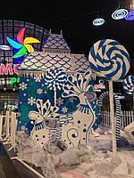 Украшения декоративные из пенопласта к новому году