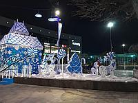 Уличные декорации из пенопласта