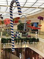 Декорации на новый год из пенопласта