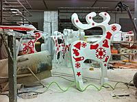 Производство фигур из пенопласта