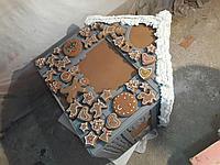 Пряничный домик из пенопласта