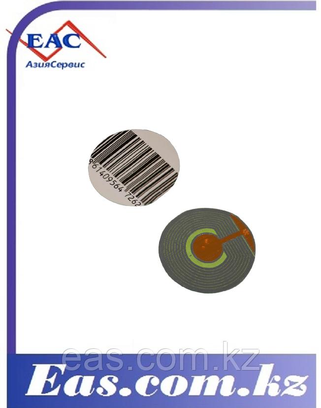 Этикета R40 мм ложный штрих-код