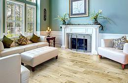 Пробковый пол Corkstyle Wood Oak Virginia White