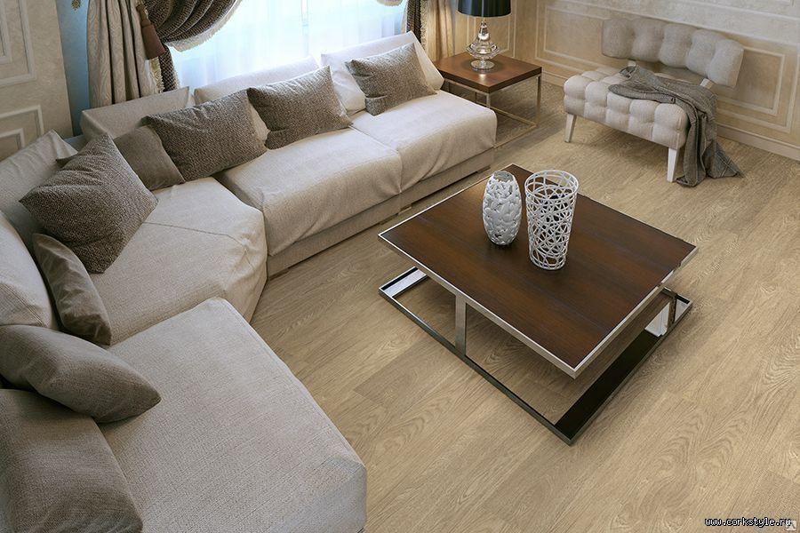 Пробковый пол Corkstyle Wood XL Oak Deluxe