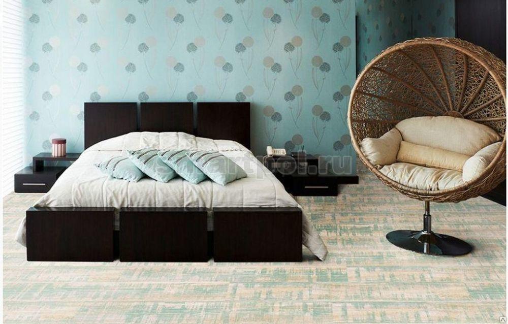 Пробковый пол Corkstyle Wood XL Color Quartzite Mint