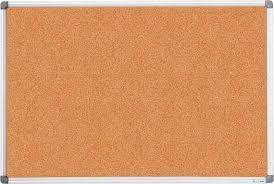Доска пробковая 90x120см, алюмин.рамка