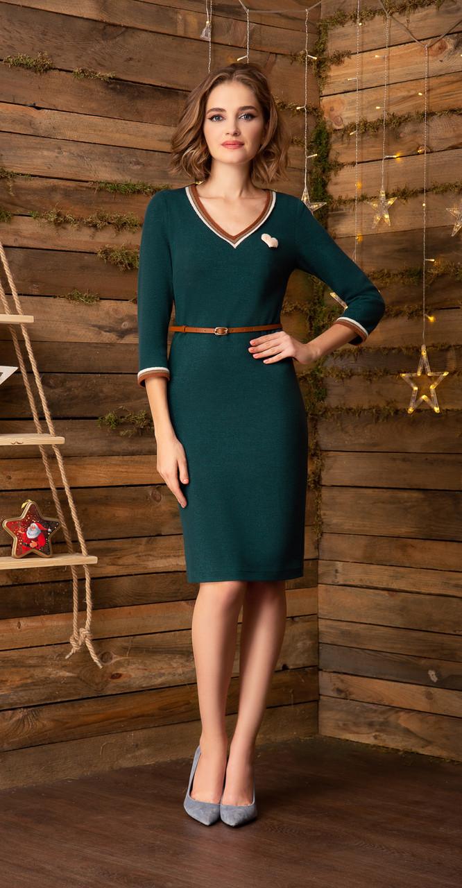 Платье Gizart-5044, зеленый, 46
