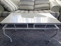 Журнальный стол с мрамора