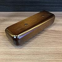 Ножка мебельная, деревянная, прямая 5*18 см
