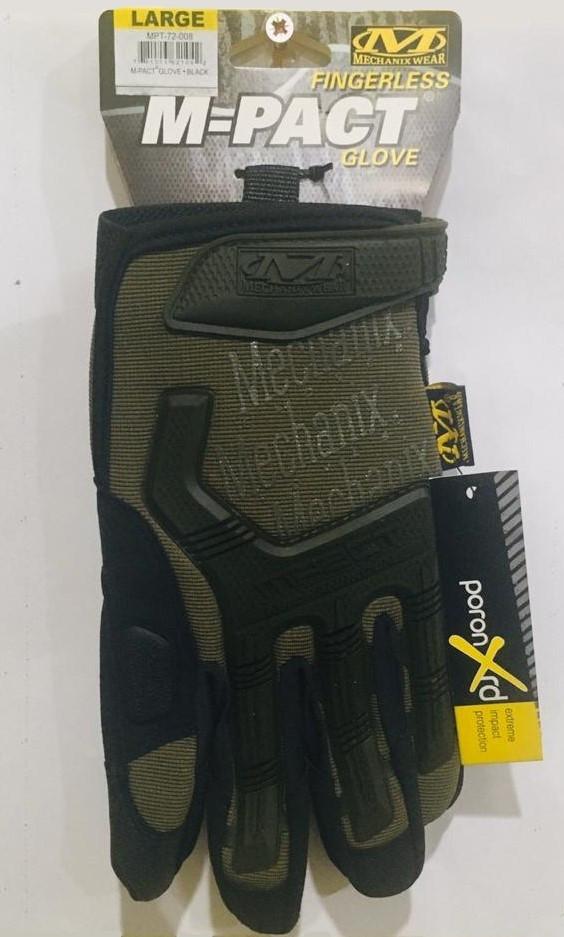 Перчатки тактические M-Pact Glove с пальцами - фото 2