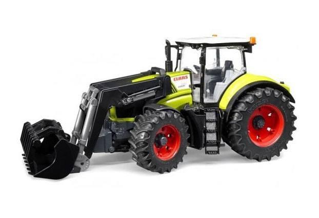 Bruder Игрушечный Трактор Claas Axion 950 c погрузчиком (Брудер)