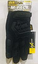 Перчатки тактические M-Pact Glove с пальцами (цвет черный), фото 3