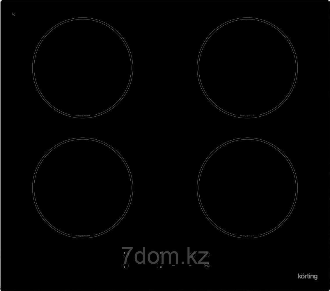 Встраиваемая поверхность индукция Korting HI 6404 B
