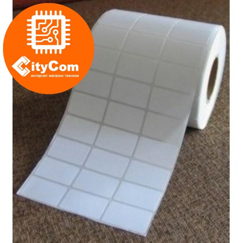 Термотрансферные этикетки 20х15мм, 5000 шт/рулон