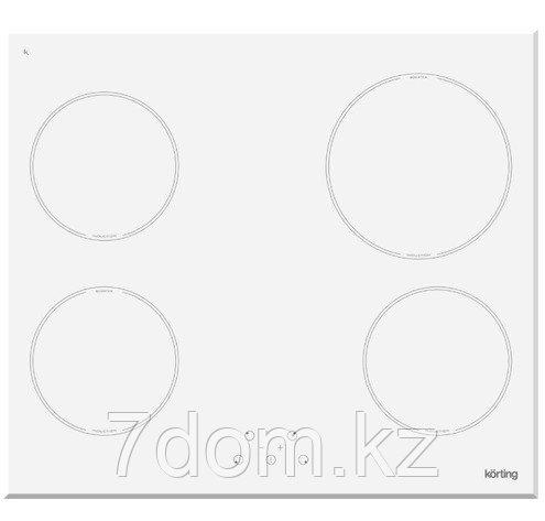 Встраиваемая поверхность индукция Korting HI 64021 BW