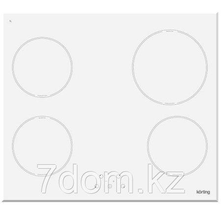 Встраиваемая поверхность индукция Korting HI 64021 BW, фото 2