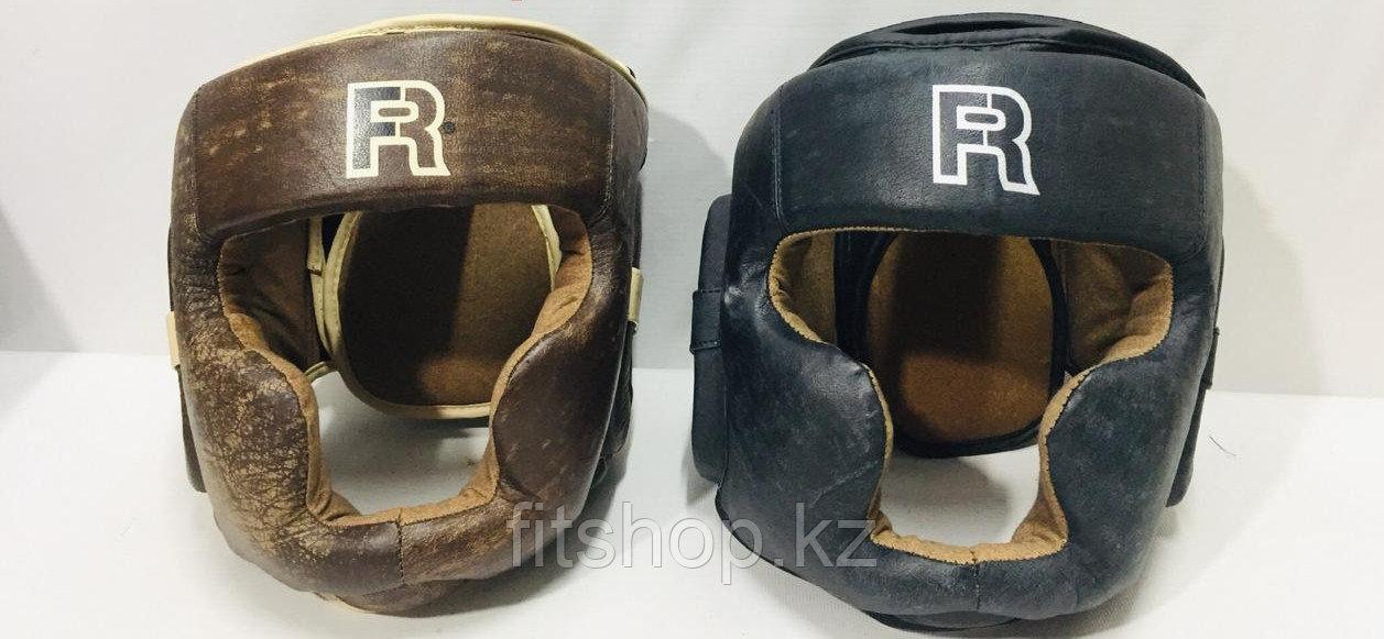 Кожаный шлем для бокса  Fist Rage