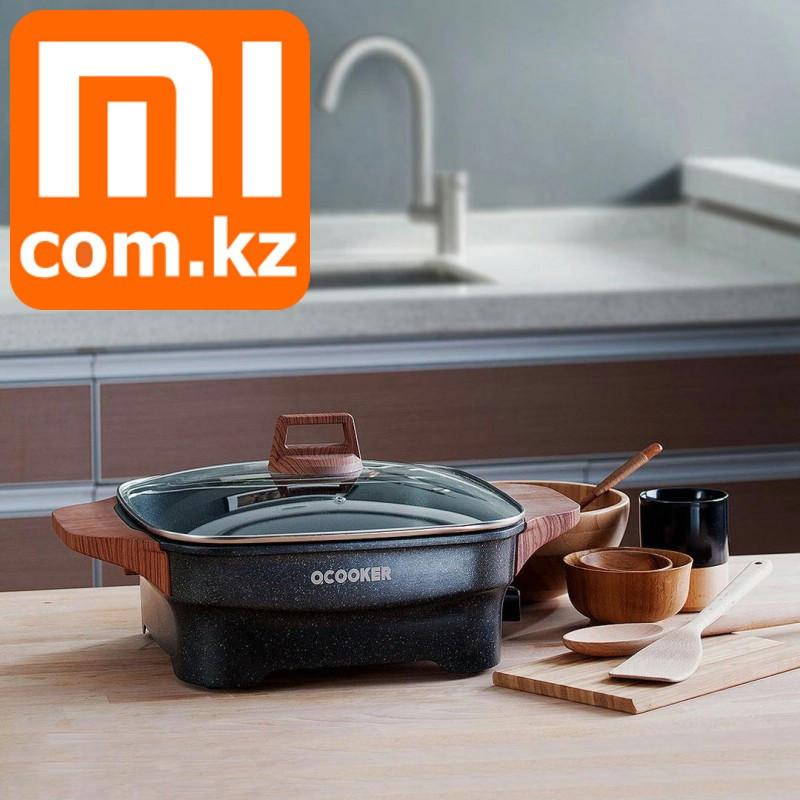 Электрогриль Xiaomi Mi Qcooker Multi-Purpose Household Electric Hot Pot. Электрический гриль.