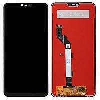 Дисплей Xiaomi Mi 8 Lite в сборе, с сенсором цвет черный
