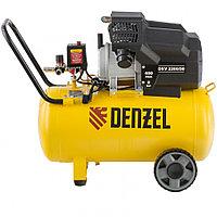 Компрессор воздушный DKV2200/50,Х-PRO 2,2 кВт, 400 л/мин, 50 л// Denzel