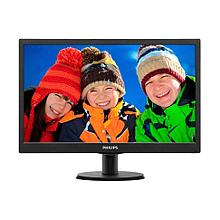 "Монитор 21.5"" PHILIPS 223V5LSB2/62 Чёрный"