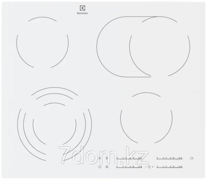 Встраиваемая поверхность керам. Electrolux CKE 6450 WC