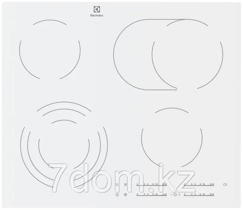 Встраиваемая поверхность керам. Electrolux CKE 6450 WC  , фото 2