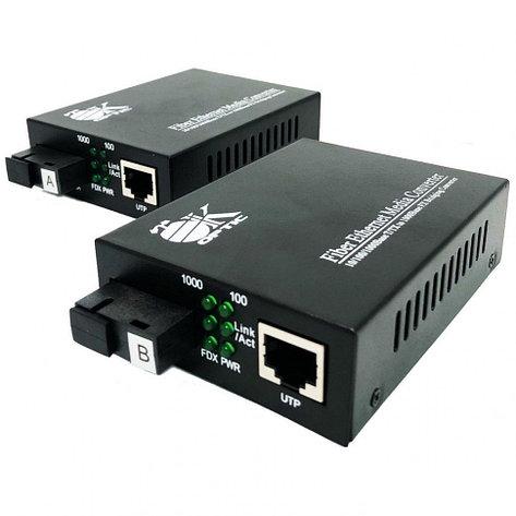 Оптический медиаконвертер OK-950GS-20A/B ( до 20км), фото 2