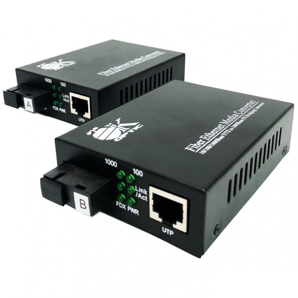 Оптический медиаконвертер OK-950GS-40A/B ( до 40км)