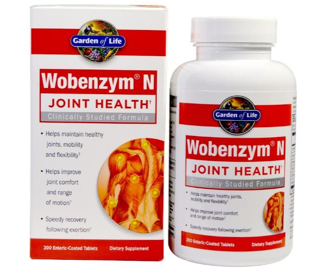 Wobenzym N, Здоровье суставов, 200 таблеток, покрытых кишечнорастворимой оболочкой